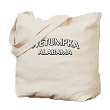 Wetumpka Alabama Tote Bag