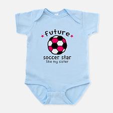 Soccer Sister Infant Bodysuit