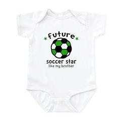 Soccer Brother Infant Bodysuit