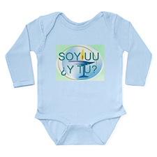 Funny Coexist Long Sleeve Infant Bodysuit