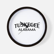 Tuskegee Alabama Wall Clock