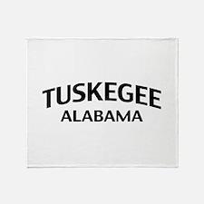 Tuskegee Alabama Throw Blanket