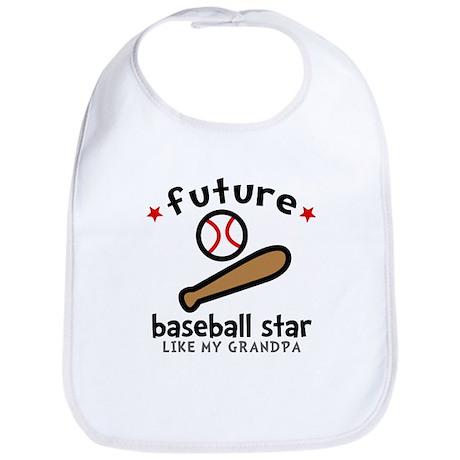 Baseball Grandpa Bib