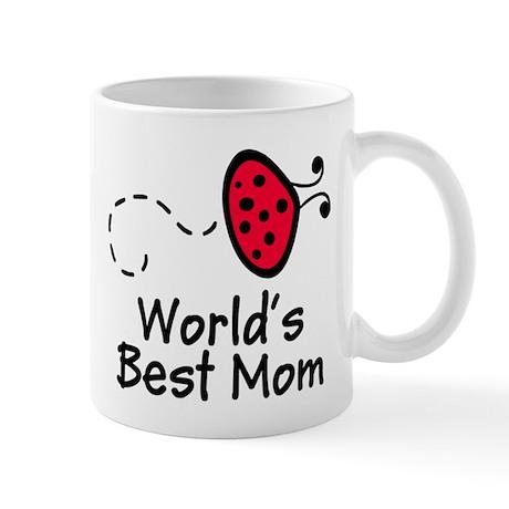 Mom Ladybug Mug