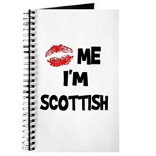 Kiss Me I'm Scottish Journal