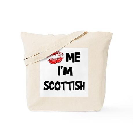 Kiss Me I'm Scottish Tote Bag