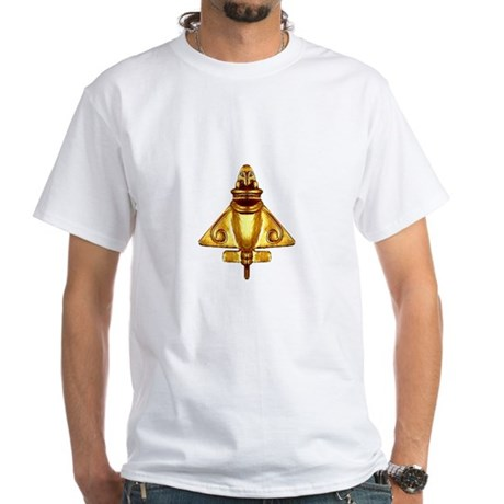 Mayan Plane Aircraft White T-Shirt