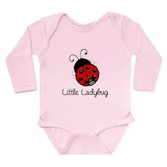 Little Ladybug Long Sleeve Infant Bodysuit