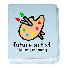 Artist Mom baby blanket