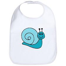 Blue Snail Bib
