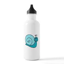 Blue Snail Water Bottle