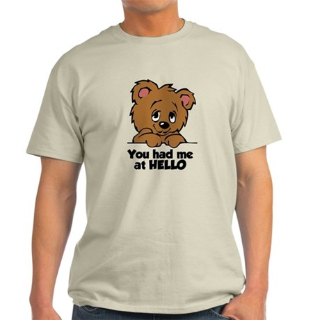 Bear Hello Light T-Shirt