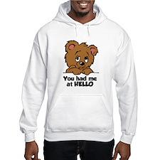 Bear Hello Hoodie