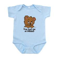 Bear Hello Infant Bodysuit