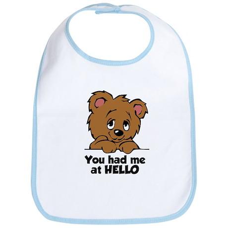 Bear Hello Bib