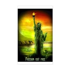 FREEDOM ISN'T FREE LIBERTY Decal