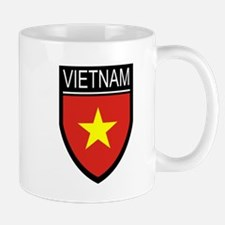 Vietnam Flag Patch Mug