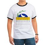 Minnesota Neighbors for Peace Ringer Tee