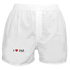 I * Ska Boxer Shorts