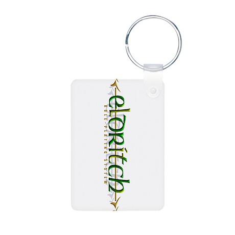 Official Eldritch RPG Logo Aluminum Photo Keychain