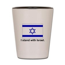 I Stand With Israel Shot Glass