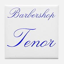 Barbershop Tenor Tile Coaster