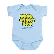 Cool Story Bro (yellow) Infant Bodysuit