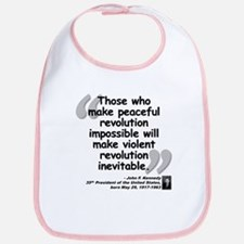 Kennedy Revolution Quote Bib
