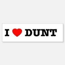 I Heart Dunt Sticker for the Pulsie