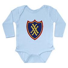 XX Corps Long Sleeve Infant Bodysuit