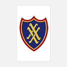 XX Corps Sticker (Rectangle)