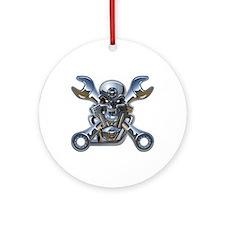 Motorhead Ornament (Round)