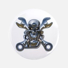 """Motorhead 3.5"""" Button"""