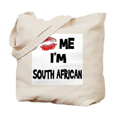 Kiss Me I'm South African Tote Bag