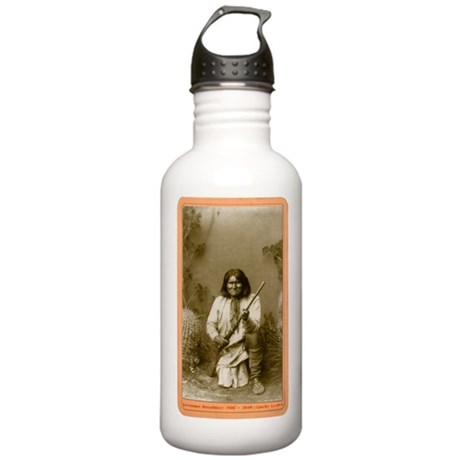 Geronimo - Apache Leader Stainless Water Bottle 1.