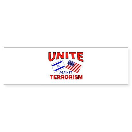 FIGHT TERRORISTS Sticker (Bumper)