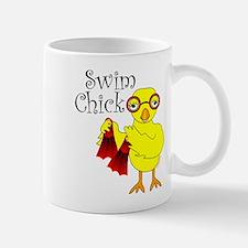 Swim Chick Text Mug