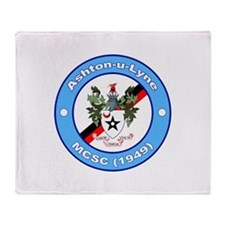 Cute Manchester Throw Blanket