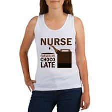 Nurse Fueled By Chocolate Women's Tank Top