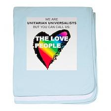 Cute Universalist baby blanket