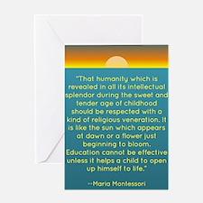 Montesssori Greeting Card