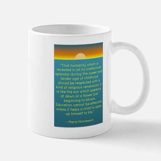 Montesssori Mug