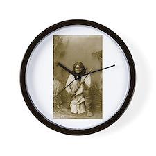 Geronimo (image only) Wall Clock