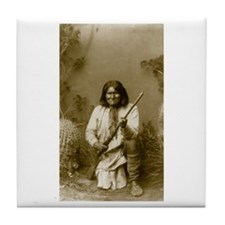 Geronimo (image only) Tile Coaster