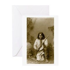 Geronimo (image only) Greeting Card
