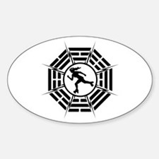 DHARMA DERBY GIRL Decal