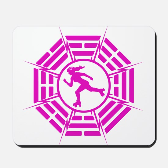 DHARMA DERBY GIRL Mousepad
