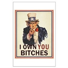 Uncle Sam Parody Large Poster