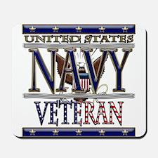 USN Navy Veteran Mousepad