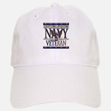 USN Navy Veteran Baseball Baseball Cap